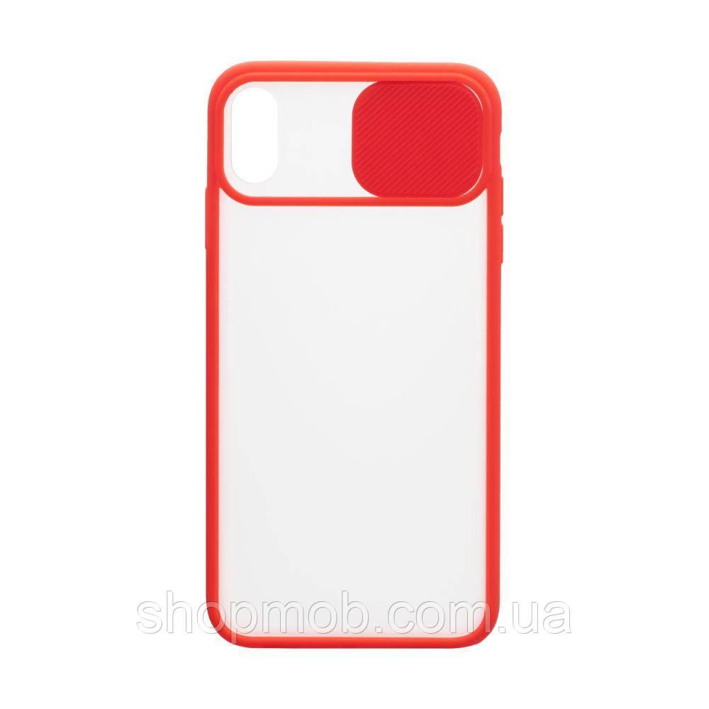 Чехол Totu Curtain for Apple Iphone Xs Max Цвет Красный