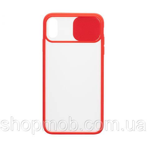 Чехол Totu Curtain for Apple Iphone Xs Max Цвет Красный, фото 2