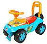 Автомобиль-каталка Дракоша (Ориоша) с музыкальным рулем (198Р) Орион