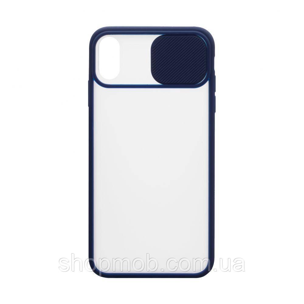 Чехол Totu curtain for Apple Iphone Xr Цвет Синий