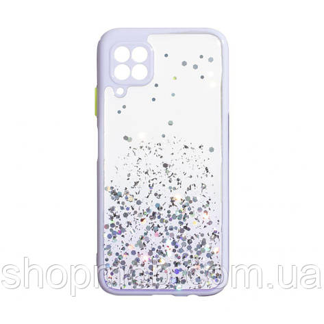 Чехол Frame with Sequins for Huawei P40 Lite Цвет Сиреневый, фото 2