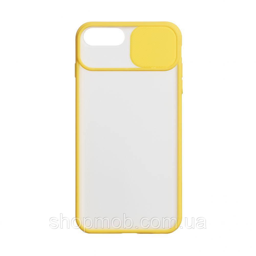 Чехол Totu Curtain for Apple Iphone 7 Plus / 8 Plus Цвет Жёлтый