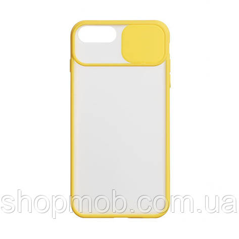 Чехол Totu Curtain for Apple Iphone 7 Plus / 8 Plus Цвет Жёлтый, фото 2