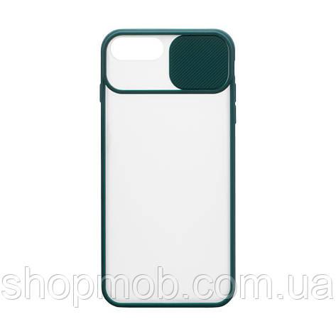 Чехол Totu curtain for Apple Iphone 8 / SE 2020 Цвет Зелёный, фото 2
