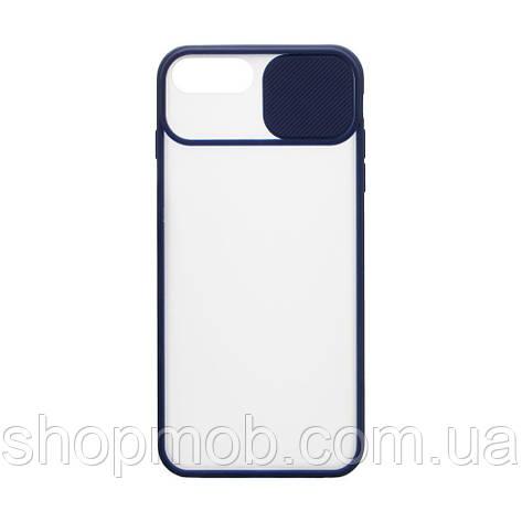 Чехол Totu curtain for Apple Iphone 8 / SE 2020 Цвет Синий, фото 2