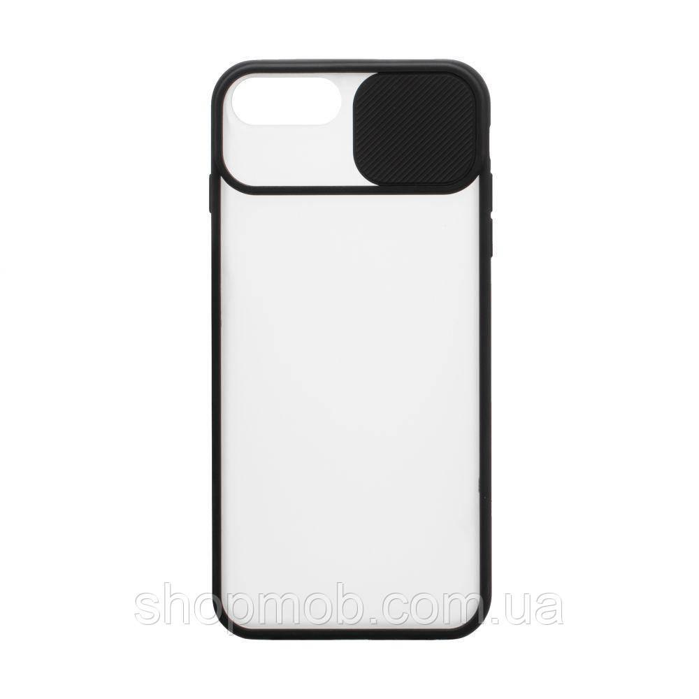 Чехол Totu curtain for Apple Iphone 8 / SE 2020 Цвет Чёрный