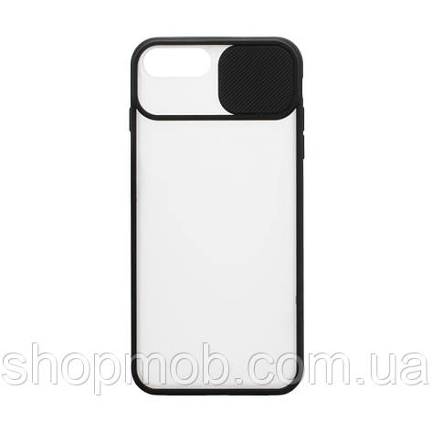 Чехол Totu curtain for Apple Iphone 8 / SE 2020 Цвет Чёрный, фото 2