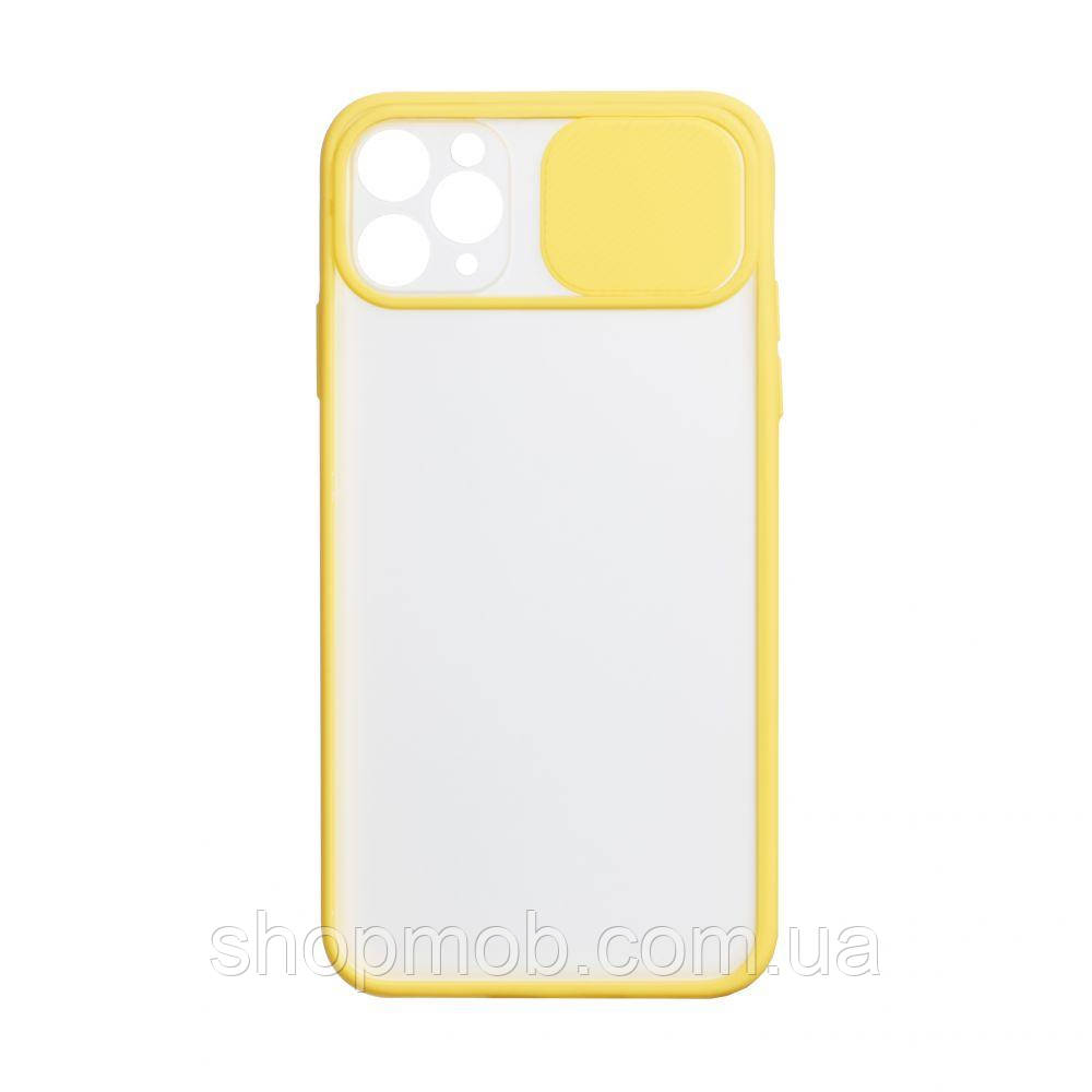 Чехол Totu Curtain for Apple Iphone 11 Pro Max Цвет Жёлтый