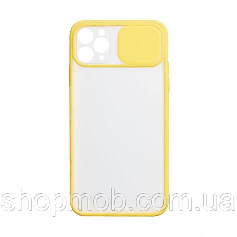 Чехол Totu Curtain for Apple Iphone 11 Pro Max Цвет Жёлтый, фото 2