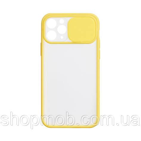 Чехол Totu Curtain for Apple Iphone 11 Pro Цвет Жёлтый, фото 2