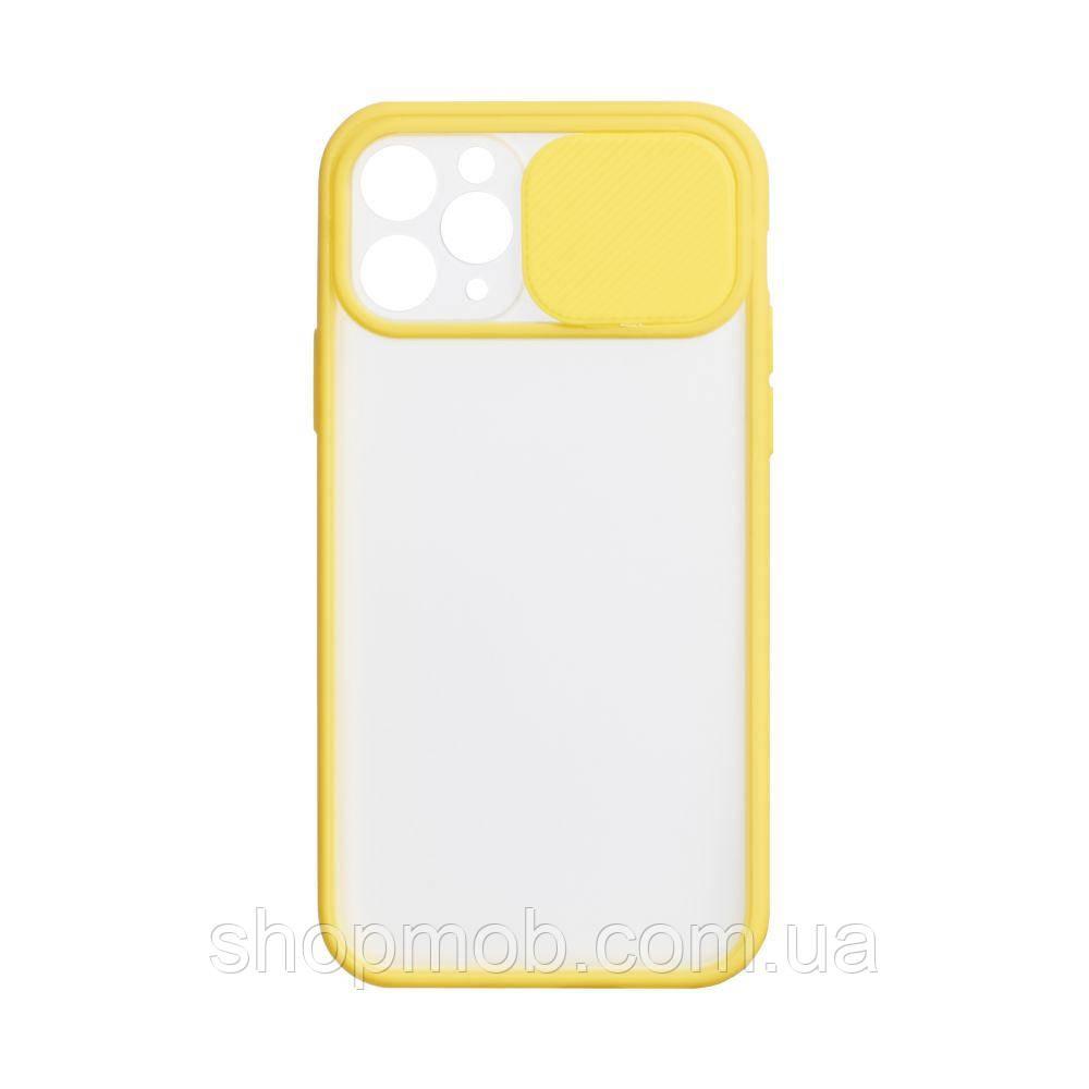 Чехол Totu Curtain for Apple Iphone 11 Цвет Жёлтый