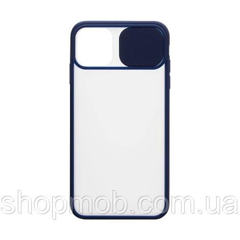 Чехол Totu Curtain for Apple Iphone 11 Цвет Синий, фото 2