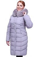 Теплое зимнее женское пальто батал Дайкири в Украине по низким ценам