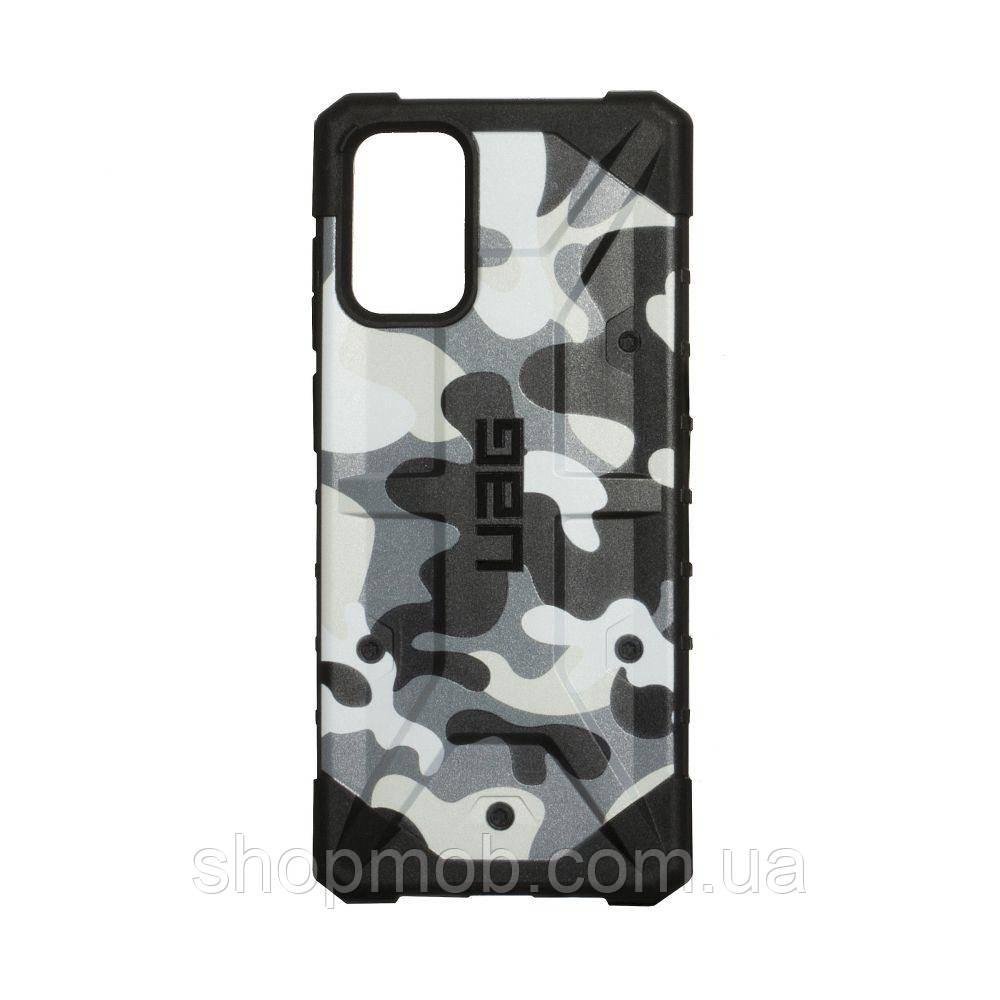 Чехол UAG Сamouflage for Samsung S20 Plus Цвет Белый