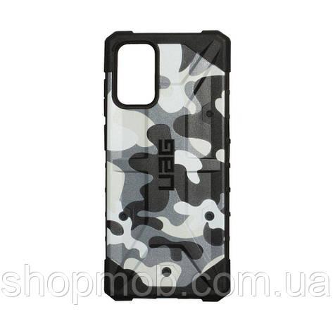 Чохол UAG Сamouflage for Samsung S20 Plus Колір Білий, фото 2