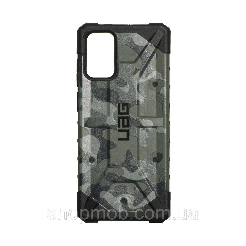 Чехол UAG Сamouflage for Samsung S20 Plus Цвет Зелёный