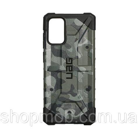 Чехол UAG Сamouflage for Samsung S20 Plus Цвет Зелёный, фото 2