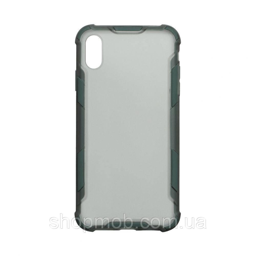 Чехол Armor Case Color for Iphone Xs Max Цвет Зелёный