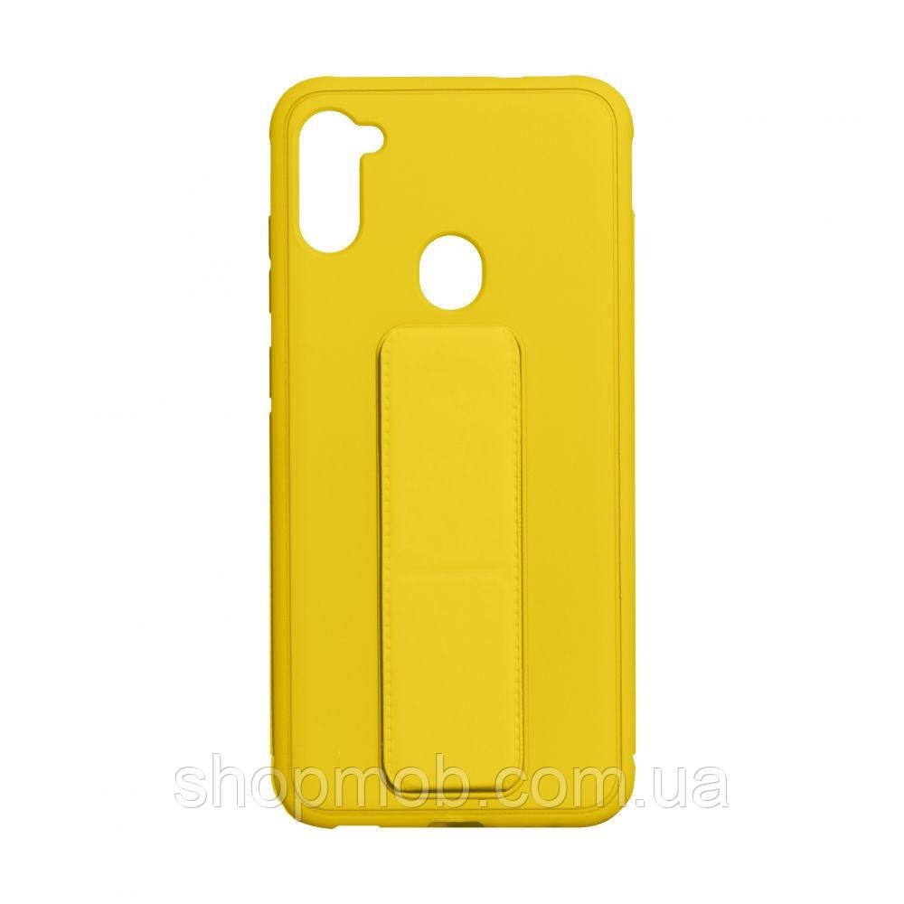 Чохол Bracket for Samsung A11 / M11 Колір Yellow