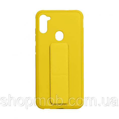 Чохол Bracket for Samsung A11 / M11 Колір Yellow, фото 2