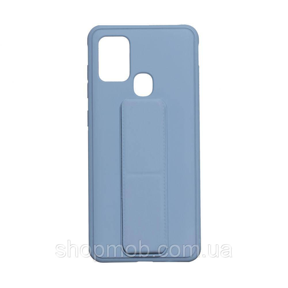Чохол Bracket for Samsung A21s Колір Light Blue