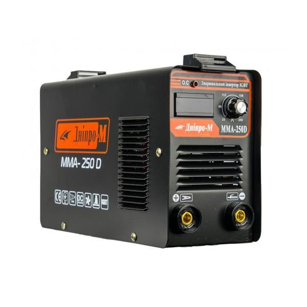 Сварочный инвертор Днипро-М mini ММА 250 D (дисплей)