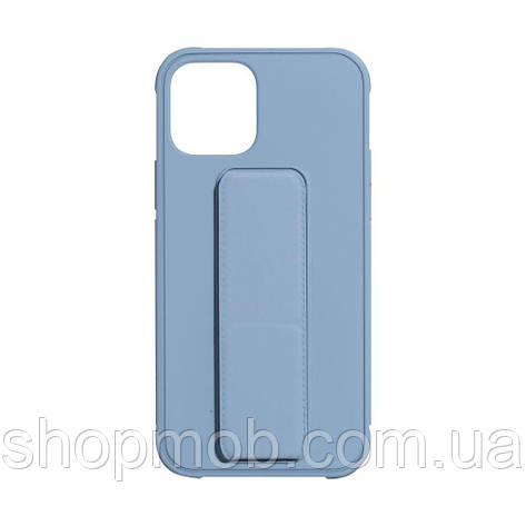 Чехол Bracket for Apple Iphone 12 (6.7) Цвет Light Blue, фото 2
