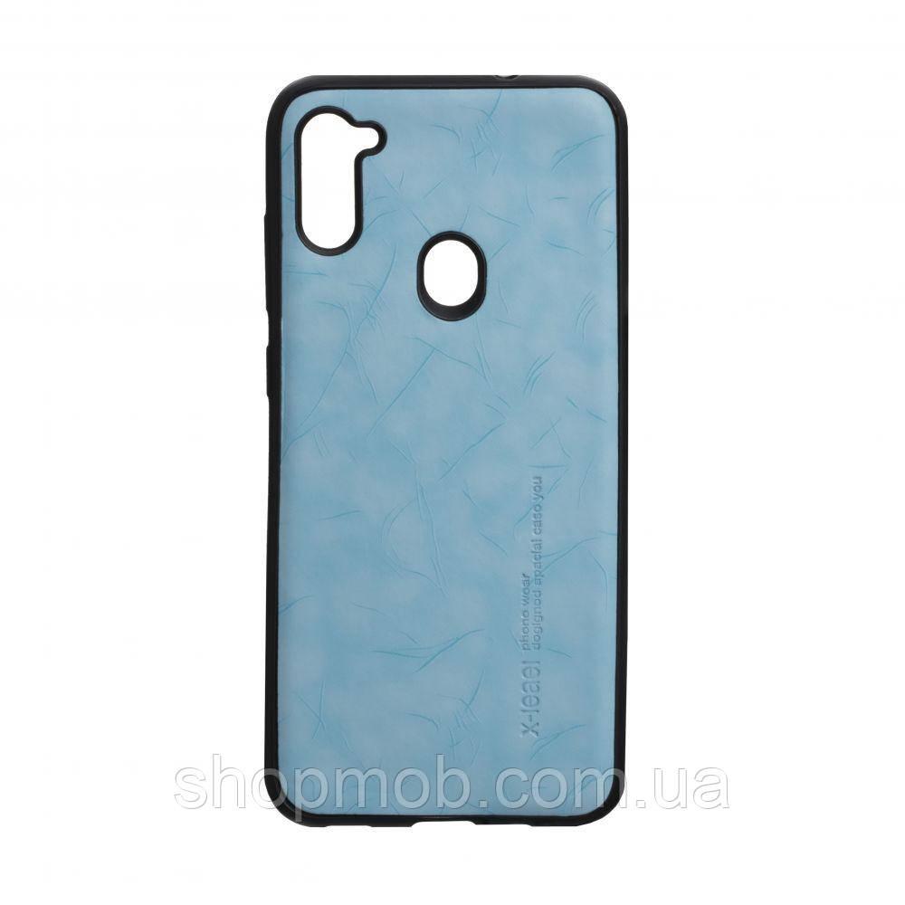 Чехол Leael Color for Samsung A11 / M11 Цвет Голубой