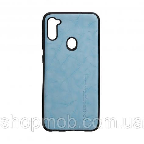 Чехол Leael Color for Samsung A11 / M11 Цвет Голубой, фото 2