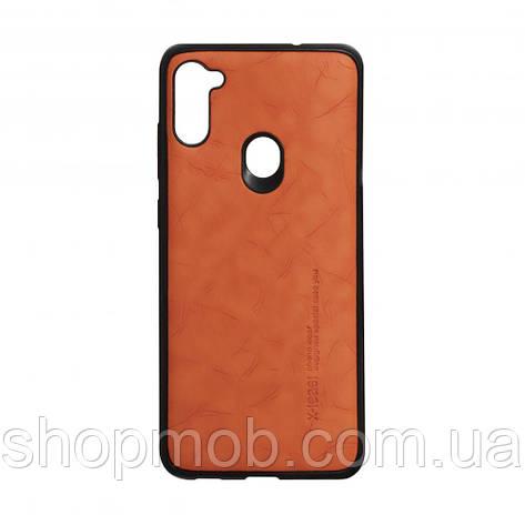 Чохол Leael Color for Samsung A11 / M11 Колір Помаранчевий, фото 2