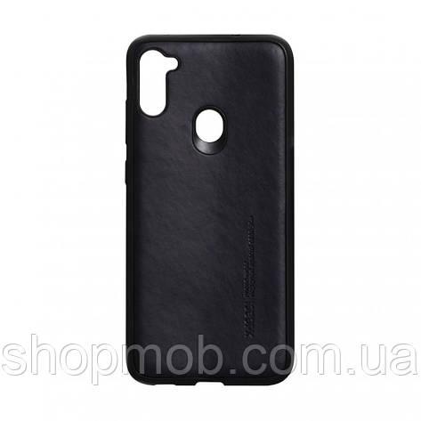 Чехол Leael Color for Samsung A11 / M11 Цвет Чёрный, фото 2
