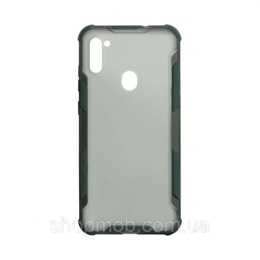 Чохол Armor Case Color for Samsung A11 Колір Зелений