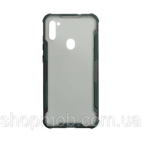 Чохол Armor Case Color for Samsung A11 Колір Зелений, фото 2