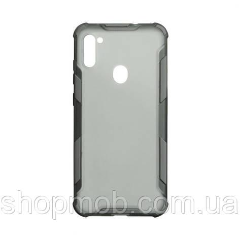 Чохол Armor Case Color for Samsung A11 Колір Сірий, фото 2