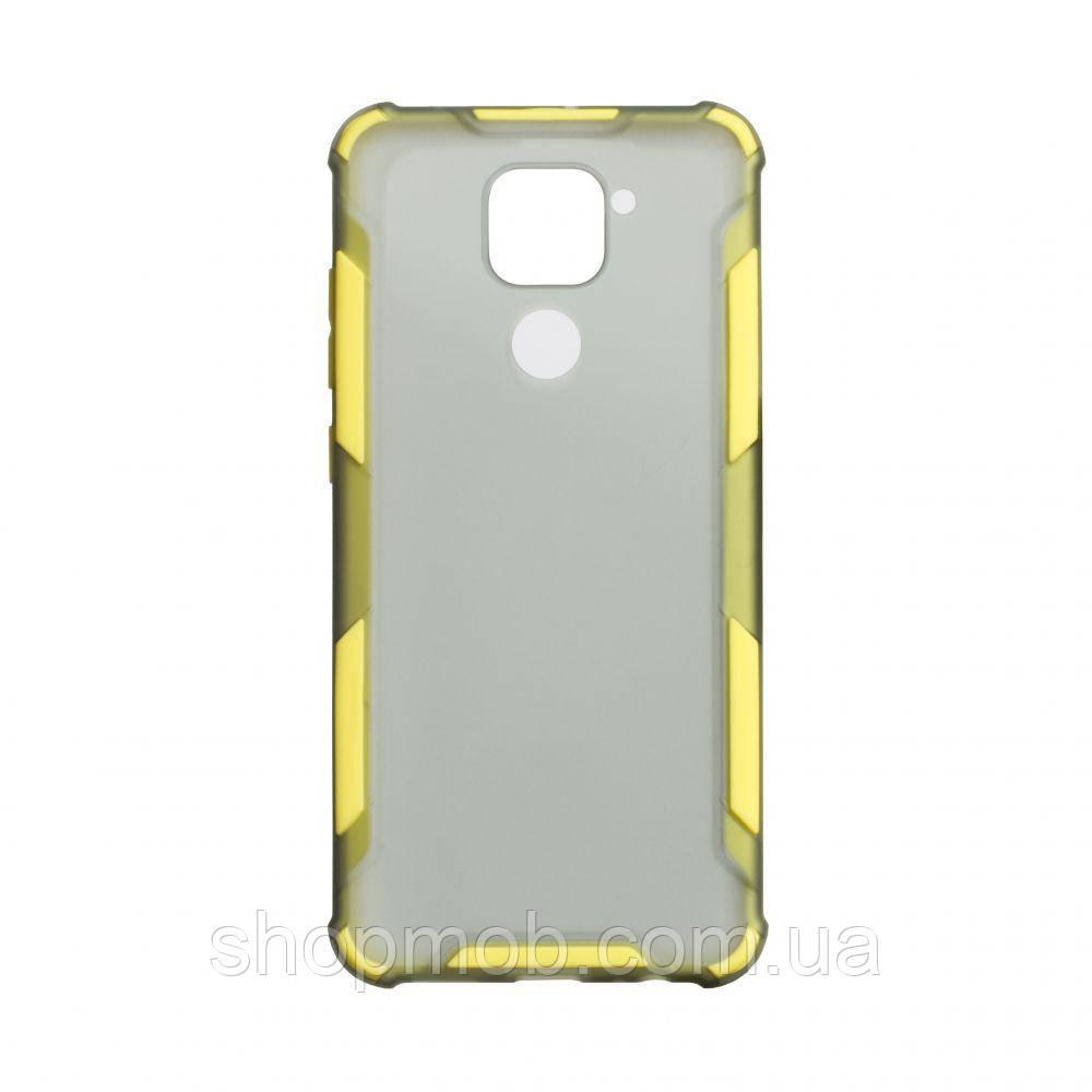 Чохол Armor Case Color for Xiaomi Redmi Note 9 Колір Жовтий
