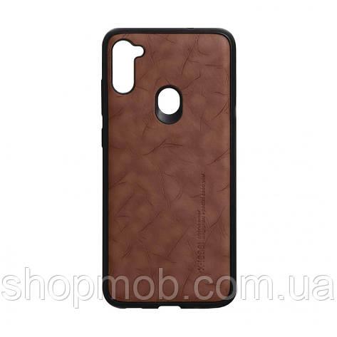 Чехол Leael Color for Samsung A11 / M11 Цвет Коричневый, фото 2
