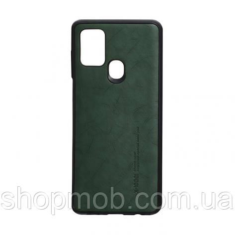 Чехол Leael Color for Samsung A21s Цвет Зелёный, фото 2