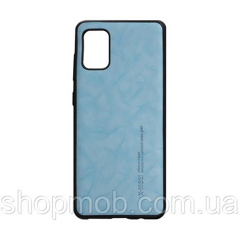Чехол Leael Color for Samsung A31 Цвет Голубой, фото 2