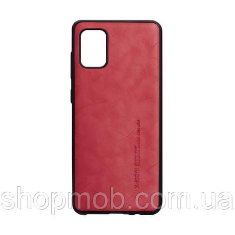 Чехол Leael Color for Samsung A31 Цвет Красный, фото 2