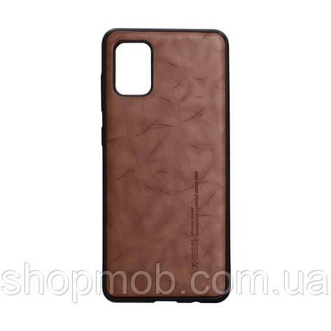Чехол Leael Color for Samsung A31 Цвет Коричневый, фото 2