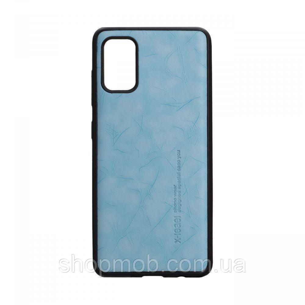 Чехол Leael Color for Samsung A41 Цвет Голубой