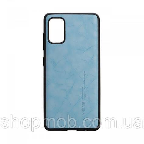 Чехол Leael Color for Samsung A41 Цвет Голубой, фото 2