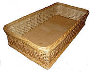 Плетеный лоток из лозы 10-30-30