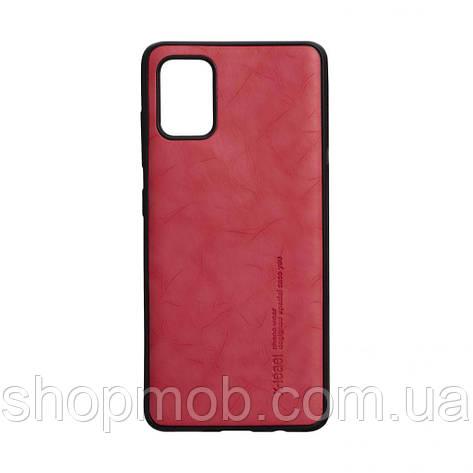 Чехол Leael Color for Samsung A51 Цвет Красный, фото 2
