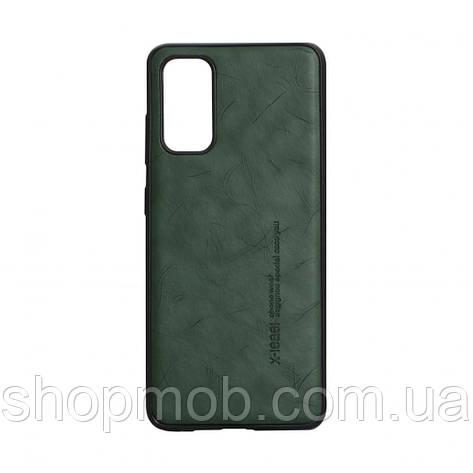 Чехол Leael Color for Samsung S20 Цвет Зелёный, фото 2