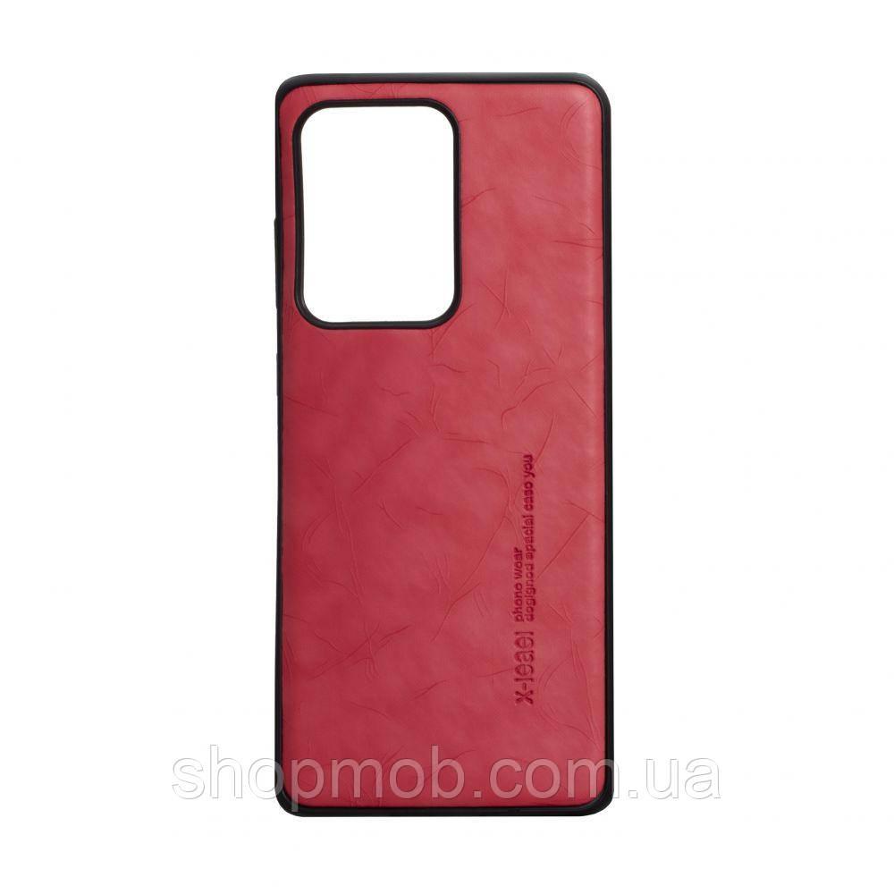 Чехол Leael Color for Samsung S20 Ultra Цвет Красный