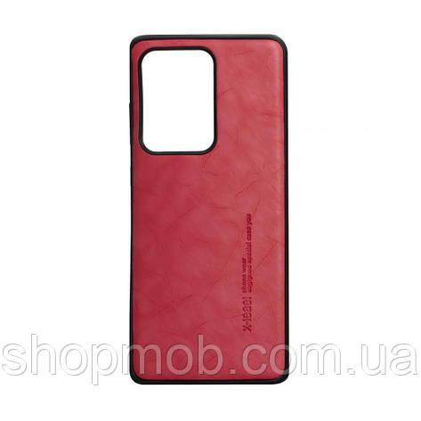 Чехол Leael Color for Samsung S20 Ultra Цвет Красный, фото 2