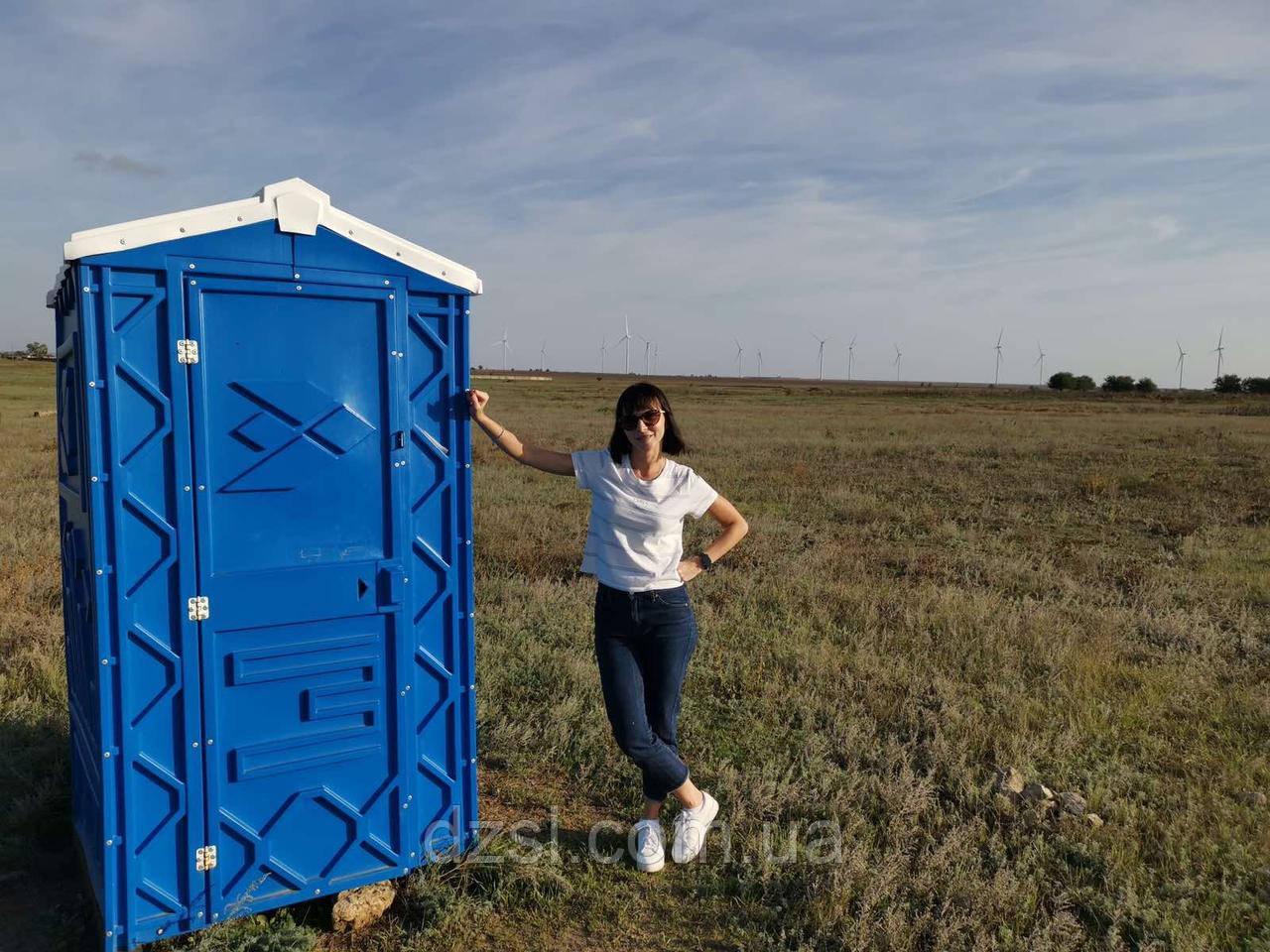 Біотуалет (туалетна кабіна для дачі та дому