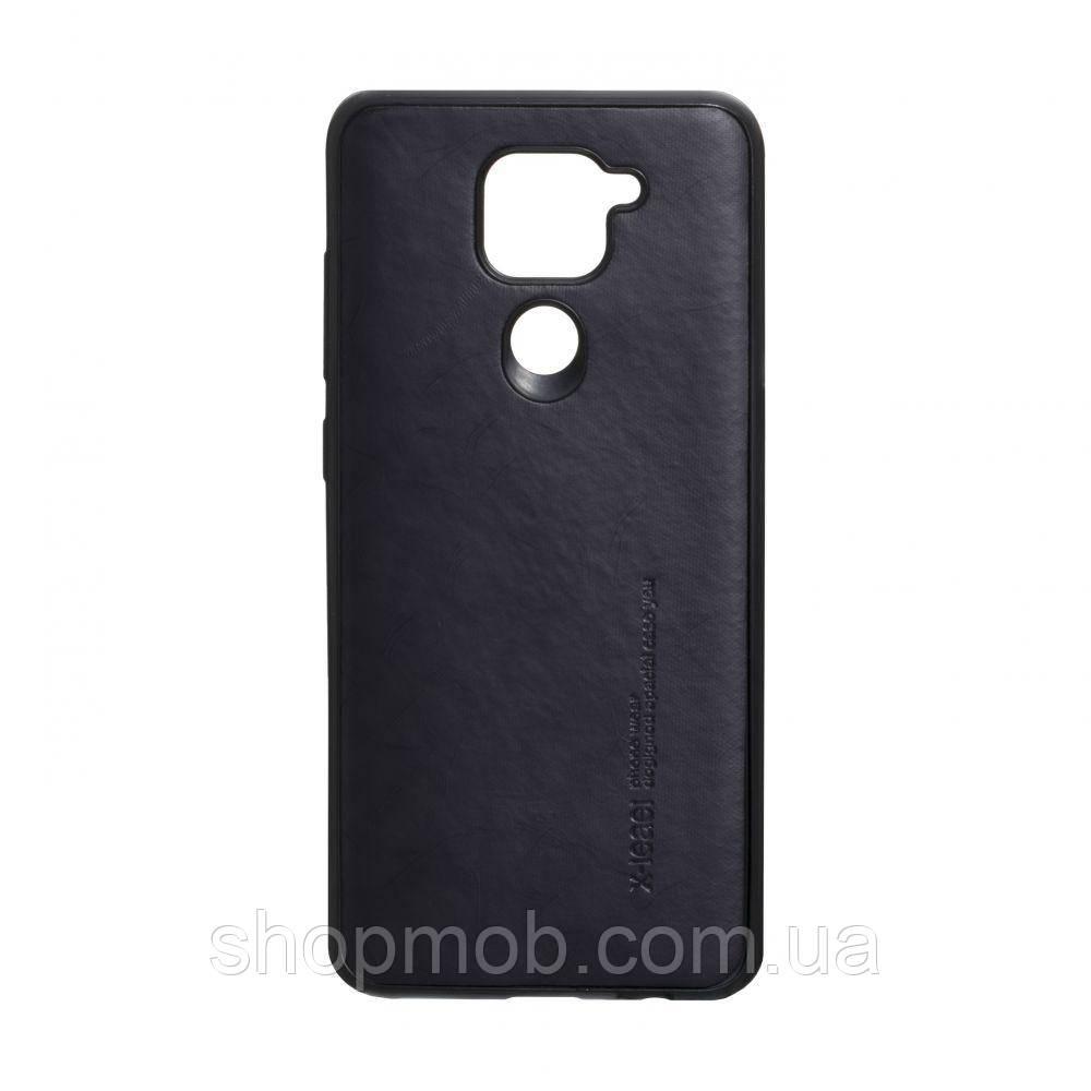 Чехол Leael Color for Xiaomi Redmi Note 9 Цвет Чёрный