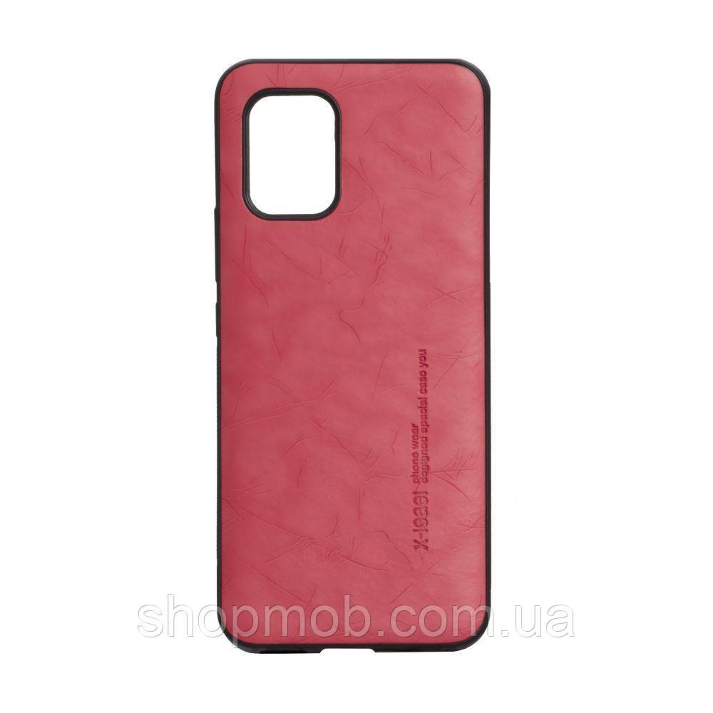 Чехол Leael Color for Xiaomi Mi 10 Lite Цвет Красный